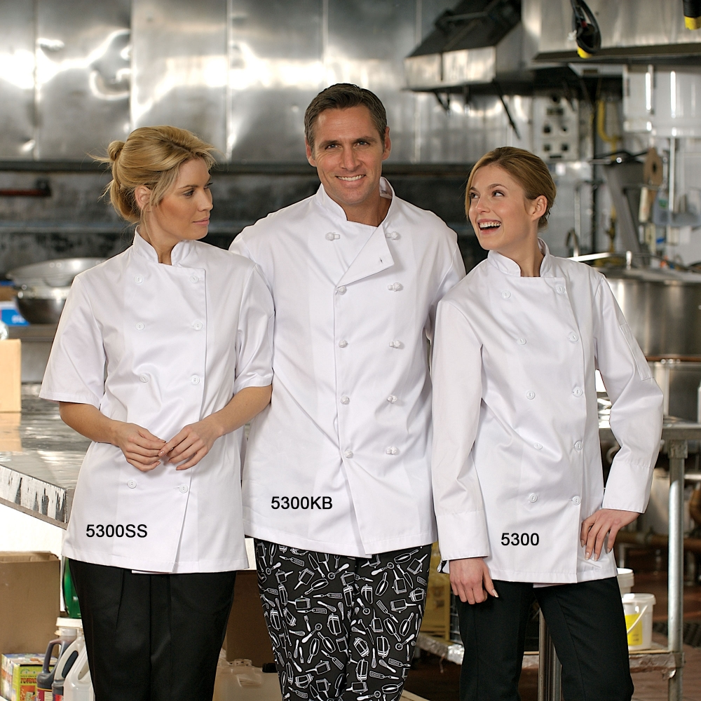 CHEF JACKETS AND SHIRTS